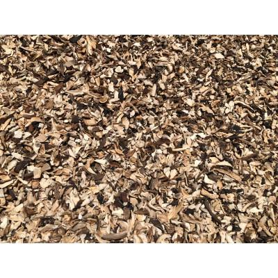 Zmes lesných húb - sušené, granulát 0,01 - 5 mm 1000g